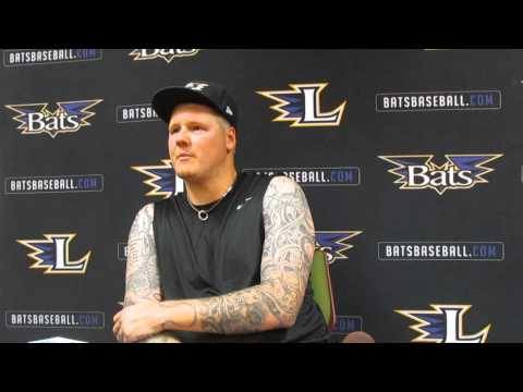 Reds RHP Mat Latos speaks after rehab start
