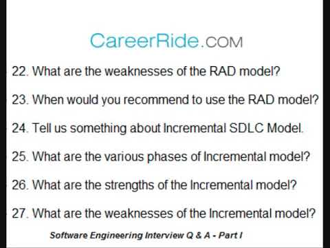 Software Engineering Interview Questions and Answers - Part I
