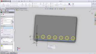 33- SolidWorks Beginner TUTORIAL: MIRROR