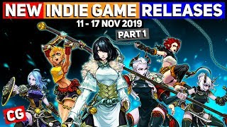 NEW Indie Game Releases: 11 - 17 Nov 2019 – Part 1 (Upcoming Indie Games)