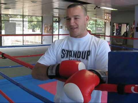 Boxer Josh Francis' first amateur fight. Boxer Josh Francis' first amateur ...