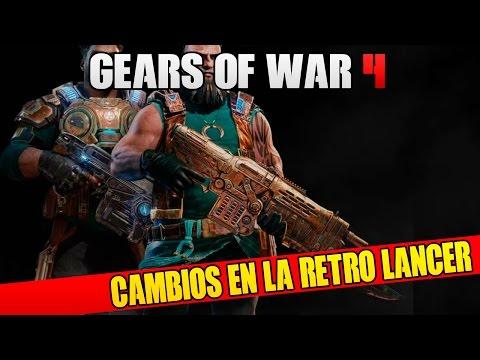 COMO FUNCIONARA LA RETRO LANCER EN GEARS OF WAR 4??