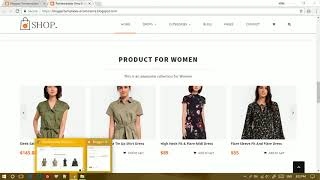 Setup Product Category and Recent Blog