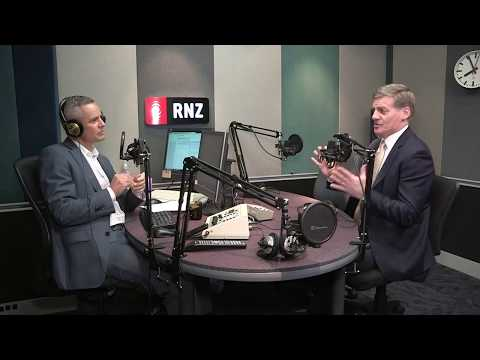 LIVE STREAM Bill English on Morning Report, 7 August 2017.