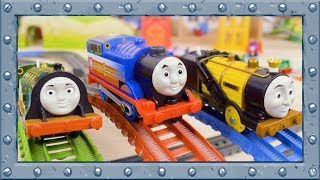 Racing Challenge! Which Engine is the Fastest? | TrackMaster | Thomas and Friends #76