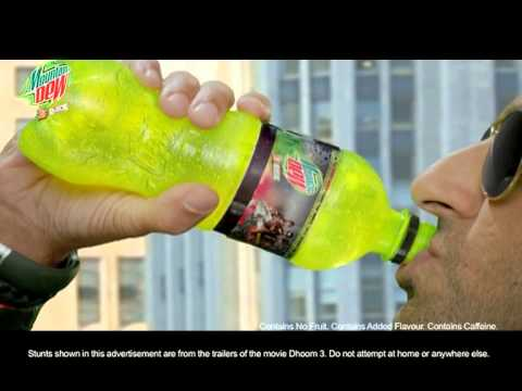 Mountain Dew Dhoom 3 Promo video