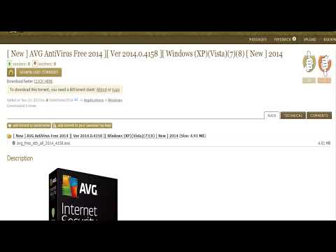 [ New ] AVG AntiVirus Free 2014 ][ Ver 2014.0.4158 ][ Windows (XP)(Vista)(7)(8) [ New ] 2014