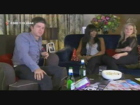 Noel Gallagher on Celebrity Googlebox 17.10.2014