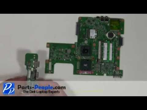 Dell Inspiron 1545   DC Power Jack / USB IO Circuit Board  Replacement   How-To-Tutorial