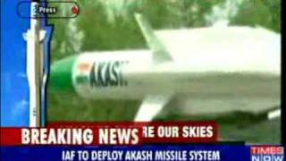 IAF to deploy Akash missile to counter Chinese threat-News-Videos-