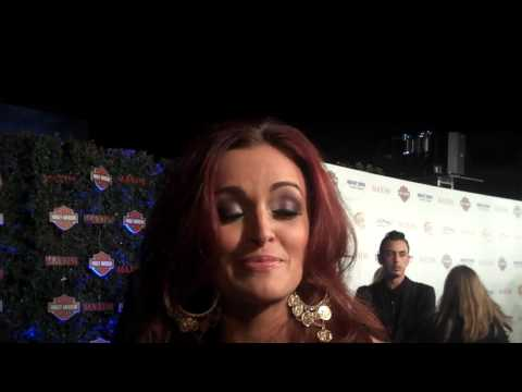 Maria Kanellis @ Maxim Hot 100 Party - Talks TNA & WWE