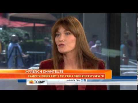 Carla Bruni: I don't miss being first lady