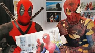 Spider-Man, Deadpool, & Friends at Fan Expo