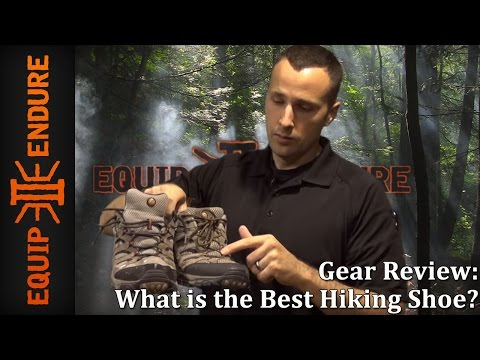 What is best hiking shoe merrell moab gear review equip 2 endure