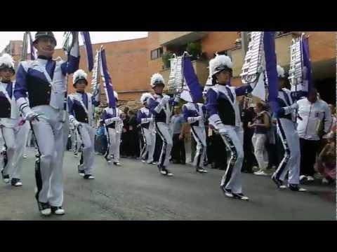 CONCURSO BANDAS MARCIALES FLORESTA FERIA DE LAS FLORES 2012