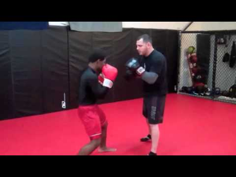 Kickboxing classes in Sussex County NJ(Muay Thai Clinch) Image 1
