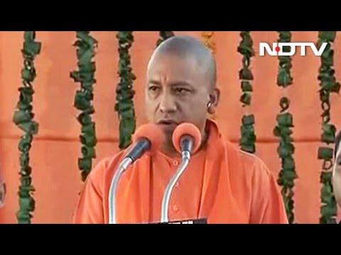 'Na Jaati, Na Mazhab', Promises Yogi Adityanath In Gorakhpur