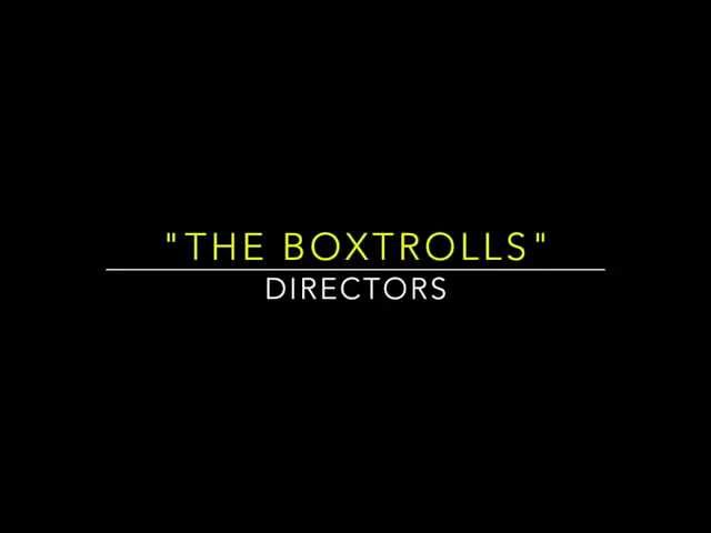 """The Boxtrolls"" and Ben Kingsley"