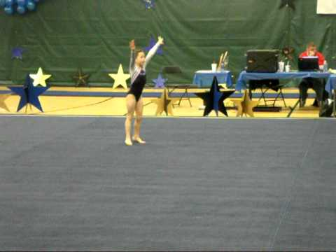 Cayleigh Wallace Floor Routine WV State Meet 2011