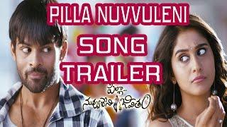 Pilla Nuvvuleni Jeevitham Song Trailer - Title Song - Sai Dharam Tej, Regina