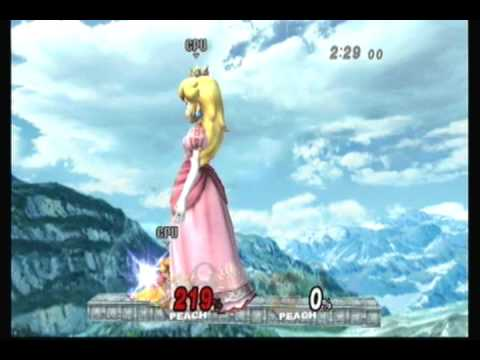 Brawl Hacks - Giant Growing Peach v.s. Giant Growing Daisy