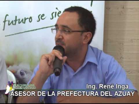 ACUERDO LIMÍTROFE RENÉ INGA ASESOR DE LA PREFECTURA DEL AZUAY