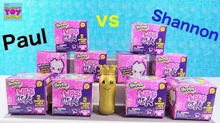 Paul vs Shannon Shopkins Wild Style Season 9 Challenge Blind Bag Toy Review | PSToyReviews