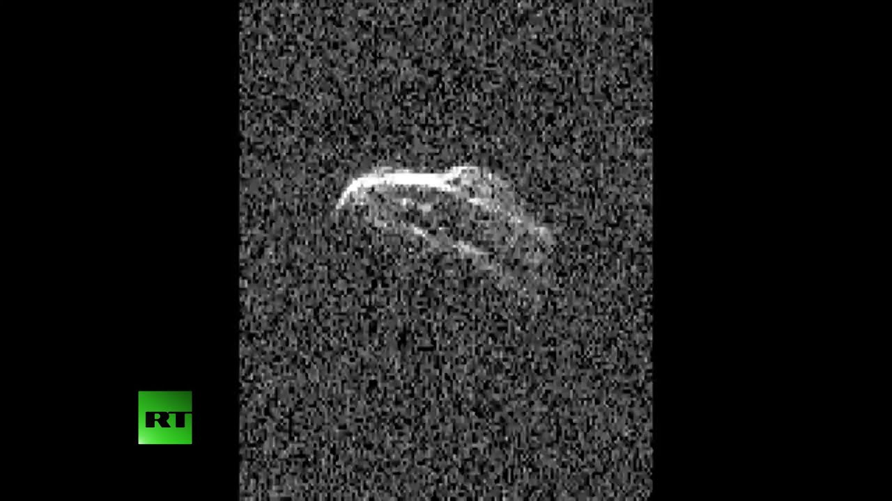 WATCH: 2,000 ft wide asteroid tumbles past Earth in 'radar video'