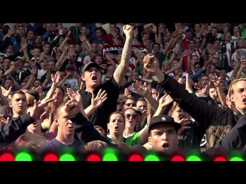 Fred Rutten geniet van Feyenoord-Legioen