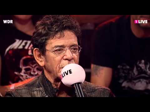 Lou Reed &amp; Metallica - 1LIVE Radio Interview