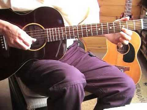 Fingerpicking Blues Lesson - Lonnie Johnson's signature licks