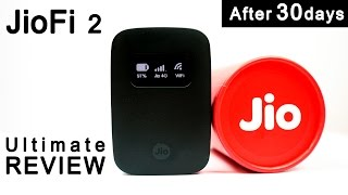 Reliance Jio JioFi 2 4G Router: Complete Review- (After 30days) Pros & Cons