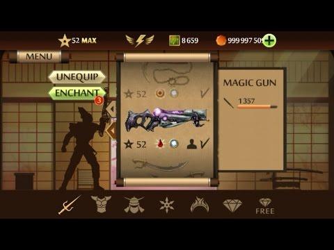 MAGIC GUN(New Freaking Weapon) Shadow fight 2 hack..!!