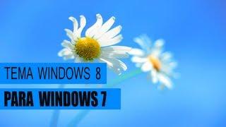 Tema personalizado do windows 8 para windows 7