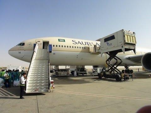 SAUDIA Boeing 777-300ER JEDDAH TO RIYADH