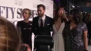 Fifty Shades of Grey Premiere - Jamie Dornan & Dakota Johnson
