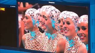 London Olympics 2012 Synchronized Swimming - Team Spain