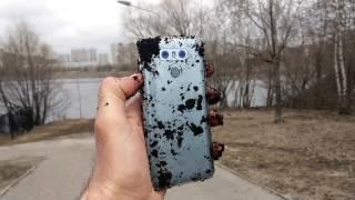 Утопим LG G6 в Москва реке?! / Арстайл /