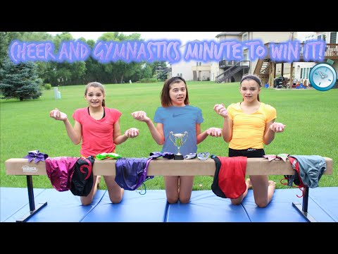 Cheer and Gymnastics Minute to Win It!