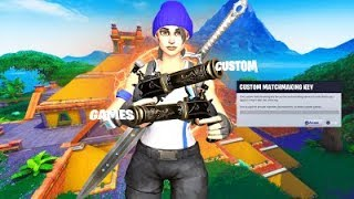 🌀*Live*🌀Hosting Customs!🌀(Come Join And Have Fun)🌀-Fortnite Battle Royale!🌀