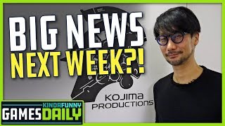 What's Kojima Productions Teasing? - Kinda Funny Games Daily 02.28.20
