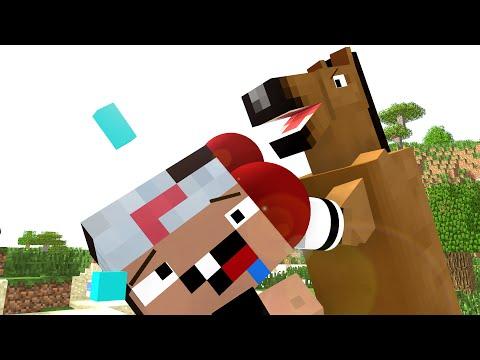 Horse Life - Craftronix Minecraft Animation
