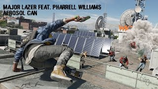 Watch Dogs 2 Soundtrack | Major Lazer feat. Pharrell Williams - Aerosol Can
