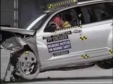 Crash Test 2006 - 2010 (Discontinued) Chrysler PT Cruiser (Frontal Impact)
