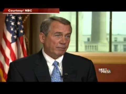 John Boehner Lies about Obamacare - Twice!