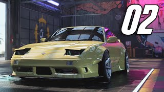 Need for Speed: Heat - Part 2 - FIRST CAR BUILD! (180SX)