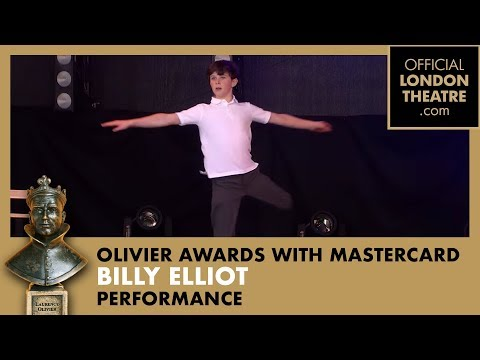 Billy Elliot The Musical performing Electricity at the Olivier Awards 2015