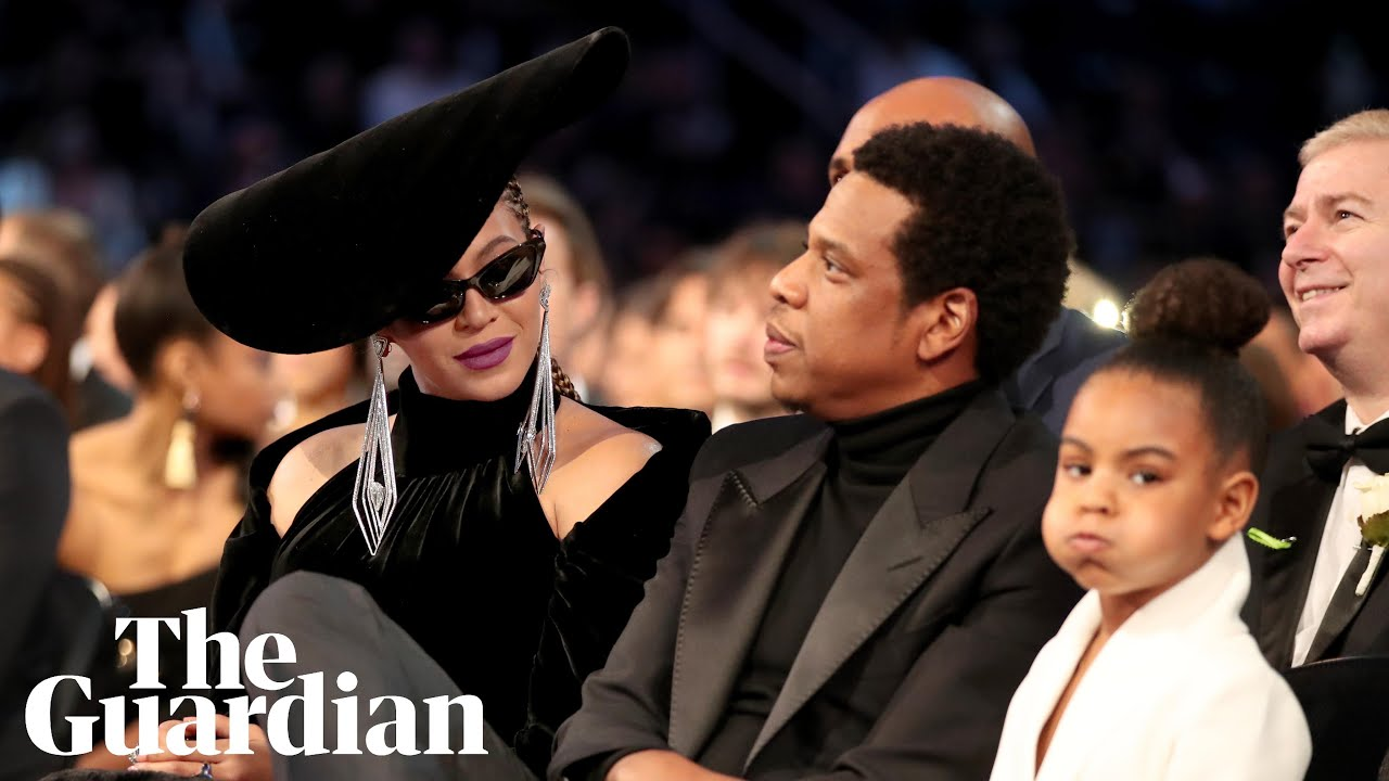 Blue Ivy appears to hush parents Beyoncé and Jay-Z at Grammys
