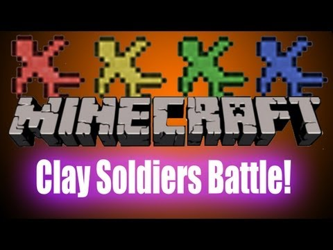 Minecraft: Clay Soldiers Mod - Battle to the Death!