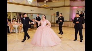 Anela Quinceanera Waltz by Houston Chambelanes Company